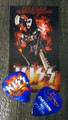 KISS Hottest Show on Earth Cheyenne 072310 Gene Simmons Guitar Pick