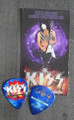 KISS Hottest Show on Earth Burgettstown 072910 Paul Stanley Guitar Pick