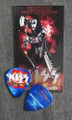KISS Hottest Show on Earth Burgettstown 072910 Gene Simmons Guitar Pick