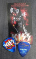 KISS Hottest Show on Earth Hershey 073110 Gene Simmons Guitar Pick