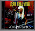 Signed Rock Masterpieces Vol. 2 Jean Beauvoir CD