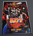 Tommy Thayer Signed 2010 Sonic Boom Over Europe KISS Tourbook
