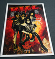 Tommy Thayer Signed Sonic Boom Tour Numbered Lithograph Poster