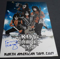 Tommy Thayer Signed KISS Alive 35 North American Tour 2009 Numbered Lithograph Poster