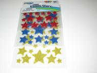 ArtSkills Glitter Foam Stars, Arts and Crafts Supplies, Peel and Stick, - NEW