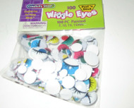 Brand New Creativity Street Assorted Wiggle Eyes, 100 Count