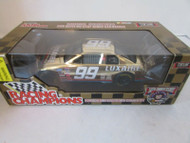 DIECAST RACING CHAMPIONS LUXAIRE #99 STOCK CAR GOLD 50TH ANNIV 1/24 MIB S1