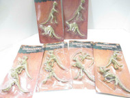 TOY CLOSEOUTS - BELOW COST- SIX DINOSAUR SKELETON 2 PACK -CARDED - NEW