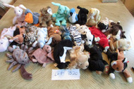 LOT OF 25 HARD TO FIND TY BEANIE BABIES - EXC - LOT B20
