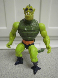 MASTERS OF THE UNIVERSE FIGURE- WHIPLASH- GOOD CONDITION- L236
