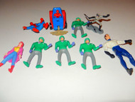 ASSORTED ACTION FIGURES -SPIDERMAN ETC- GOOD- L133