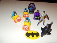 BATMAN - ASSORTED VEHICLES & FIGURES ETC - GOOD- L133