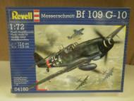 NEW MODEL- REVELL- 04160 MESSERSCHMITT BF 109 G-10- LEVEL 2- NEW-