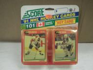 HOCKEY CARDS SCORE 1991- CANADIAN ENGLISH SERIES 1- DIMITRI KHRISTICH- NEW- L136
