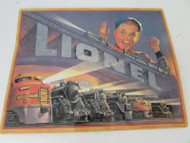 LIONEL 1952 CATALOG COVER TIN SIGN BY HALLMARK 1998 11 X 14 AS IS S1