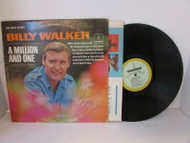 A MILLION TO ONE BY BILLY WALKER THE TALL TEXAN SIGNED 18047 RECORD ALBUM L114C