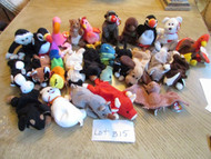 LOT OF 25 HARD TO FIND TY BEANIE BABIES - EXC - LOT B15