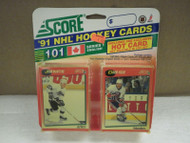 HOCKEY CARDS SCORE 1991- CANADIAN ENGLISH SERIES 1- JOHN McINTYRE- NEW- L136