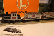 MPC LIONEL 11912- 1996 STEEL SWITCHER ORE CAR SERVICE STATION SET- BOXED -W70