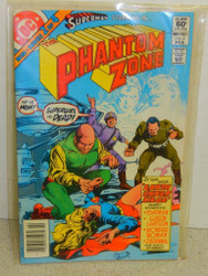 VINTAGE DC COMIC- THE PHANTOM ZONE VOL.1 NO.2- FEBRUARY 1982- GOOD- L5