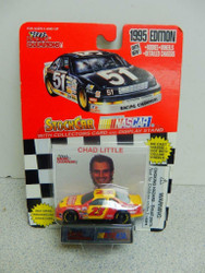 L23 RACING CHAMPIONS- CHAD LITTLE #23- 1995 EDITION DIECAST CAR- NEW ON CARD