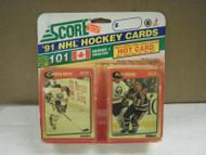 HOCKEY CARDS SCORE 1991- CANADIAN ENGLISH SERIES 1- CHRISTIAN RUUTTU- NEW- L136