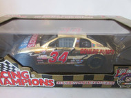 DIECAST RACING CHAMPIONS #34 GOULDS PUMPS STOCK CAR GOLD 50TH ANNIV 1/24 MIB S1