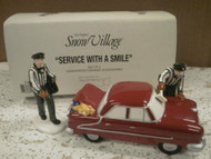 DEPARTMENT 56- RETIRED- 54865 SERVICE WITH A SMILE NEW IN BOX -L131