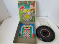 VTG ROULETTE GAME FROM KONTRELL INDUSTRIES #7412 DATED 1974