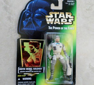 KENNER 69821 STAR WARS POWER OF THE FORCE HOTH REBEL SOLDIER ACTION FIGURE - SH