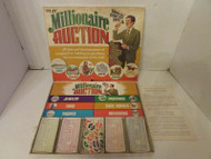 VTG 1972 PLAY MILLIONAIRE AUCTION GAME BY HAROLD C. MANLEY ALMOST COMPLETE