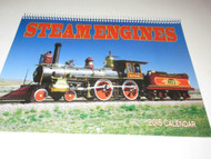 2015 TRAIN CALENDER- LOTS OF GREAT PICTURES- NEW- H21
