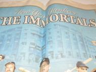 NEW YORK YANKEES- THE IMMORTALS- NY POST PULL OUT SECTION- GOOD- M9