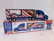 USA RACING TEAM TRACTOR TRAILER LTD ED WITH RACE CAR VG 2003 LotD