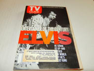 TV GUIDE- JANUARY 1ST, 2000 - ELVIS -ENTERTAINER OF THE CENTURY - GOOD - W5