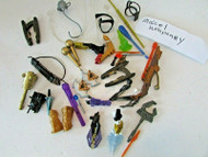 ACTION FIGURE PARTS ACCESSORY ASST WEAPONRY GEAR ARTILLARY SEE PIC L9