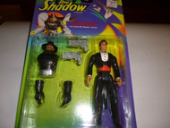 VINTAGE FIGURE- NEW ON THE CARD -THE SHADOW-LAMONT CRANSTON- MINT- L179
