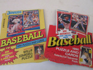 DONRUSS 1990-1991 BASEBALL AND PUZZLE CARDS LOOSE CARDS POT LUCK S1