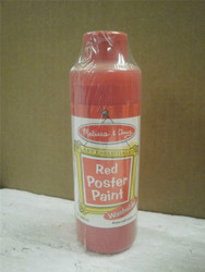 NEW MELISSA & DOUG- 4137- RED POSTER PAINT