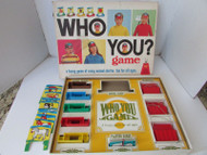 VTG SCHAPER #405 WHO YOU? GAME GREAT KIDS GUESSING CHARADES GAME