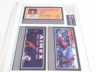 LIONEL- SHEET OF THREE REPRODUCTION BILLBOARDS- AIREX- ETC- NEW- M9