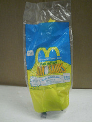 MCDONALDS HAPPY MEAL TOY 1992- DINOSAURS- EARL SINCLAIR- STILL SEALED- MINT- BB7