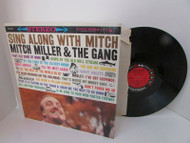 SING ALONG WITH MITCH MILLER & THE GANG RECORD ALBUM COLUMBIA 8004