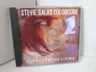 BACK FROM THE LIVING STEVIE SALAS COLORCODE CD MINT NOT SEALED
