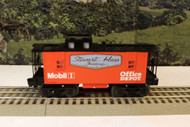 LIONEL T1428 TONY STEWART OFFICE DEPOT/MOBIL 1 CABOOSE - 0/027 - NEW - CLOSEOUT