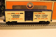 LIONEL VAULT - 29904- 2002 TOY FAIR BOXCAR- VERY LIMITED - NEW- W73