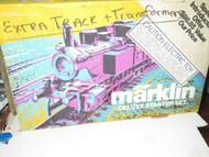 MARKLIN- HO - DELUXE STARTER SET EMPTY BOX - FAIR - W58