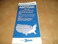 AMTRAK 1988 SOUTHEASTERN ROUTES TIMETABLE- NY & SOUTH - h1