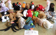 LOT OF 25 HARD TO FIND TY BEANIE BABIES - EXC - LOT B34