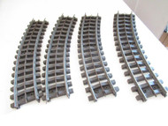 LIONEL - SUPER O CURVE TRACK - 4 SECTIONS GOOD - ON SALE - W46L